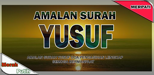 Surat Yusuf Doa Pengasihan Apps On Google Play