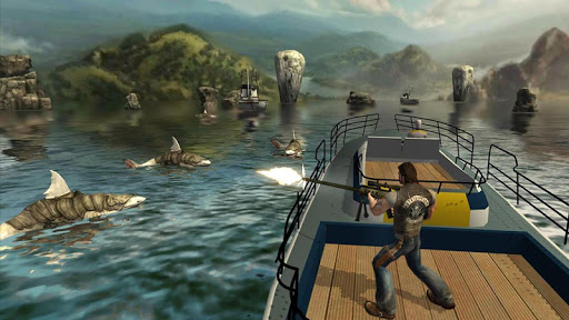 Angry Shark Hunter apktram screenshots 7