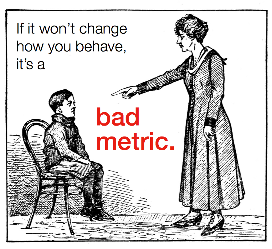 Measuring What Matters: How To Pick A Good Metric