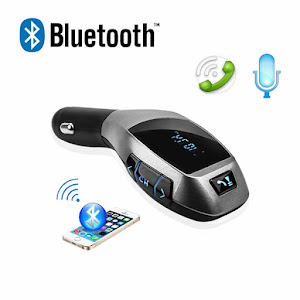 Car Kit Auto Bluetooth cu functie de modulator FM, model X6 + Telecomanda