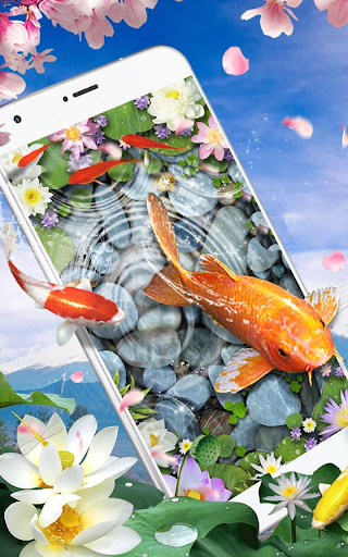 Download Live Fish Wallpapers Hd 3d Water Theme On Pc Mac With Appkiwi Apk Downloader