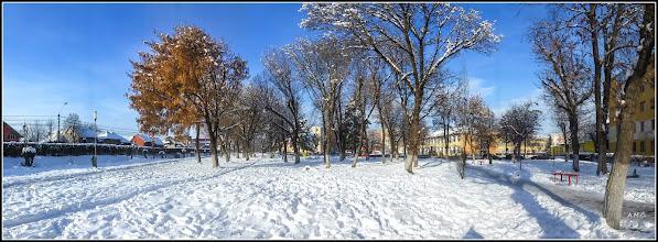 Photo: Turda - Calea Victoriei, Mr.1 - parc si spatiu verde