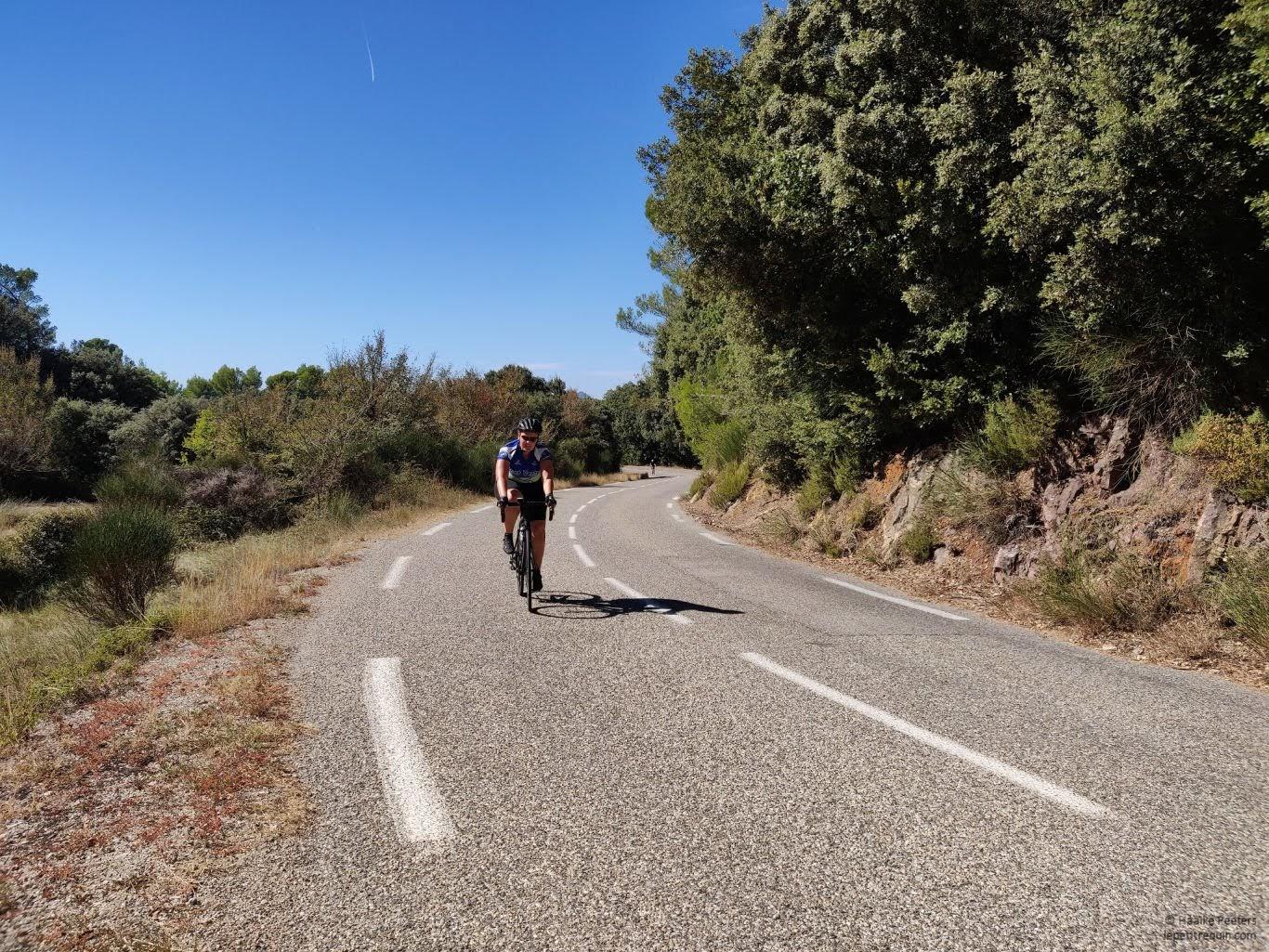 Fietsen Provence (Le petit requin)