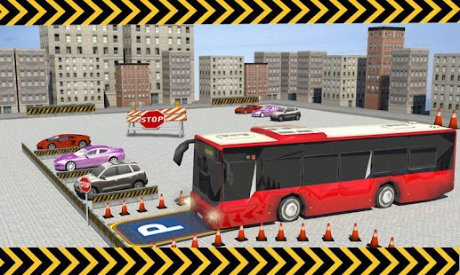 City Bus Parking 3D Simulator- screenshot thumbnail