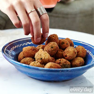 Sausage-Stuffed Spicy Olives