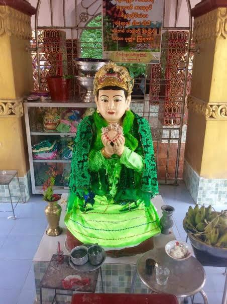 San Dha Mukhi Statue