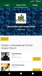 My ICGC App (Unreleased) - náhled