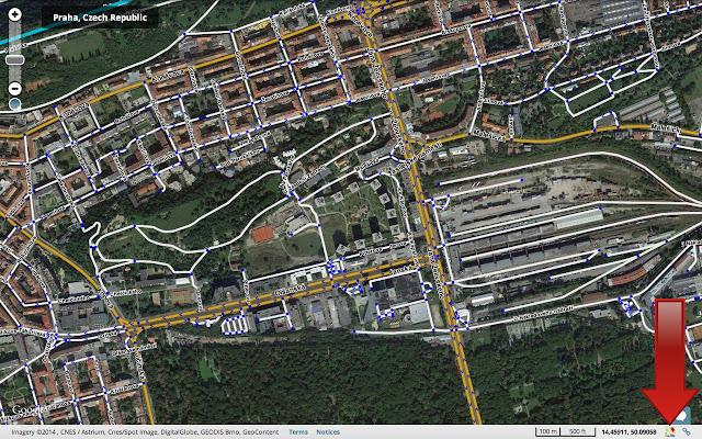 Waze Google Maps Link Chrome Web Store - Current aerial maps