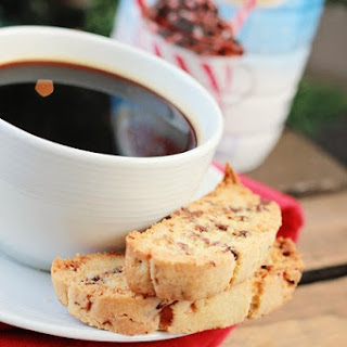 Biscotti Recipe with Peppermint Coffee