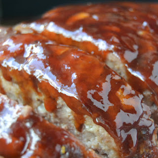 Bourbon Glazed Meatloaf.