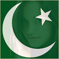Pakistan Flag Face Photo