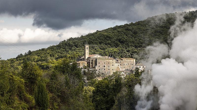 La valle del diavolo - Larderello /Toscana di nadia_ciube_borghi