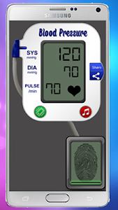 Blood Pressure Meter Prank screenshot 5