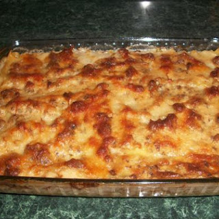 White Lasagna With Sausage