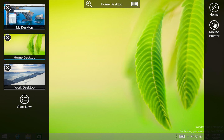 Microsoft Remote Desktop- screenshot