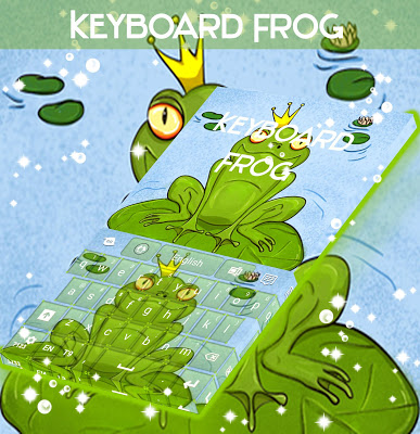 Frog Keyboard - screenshot