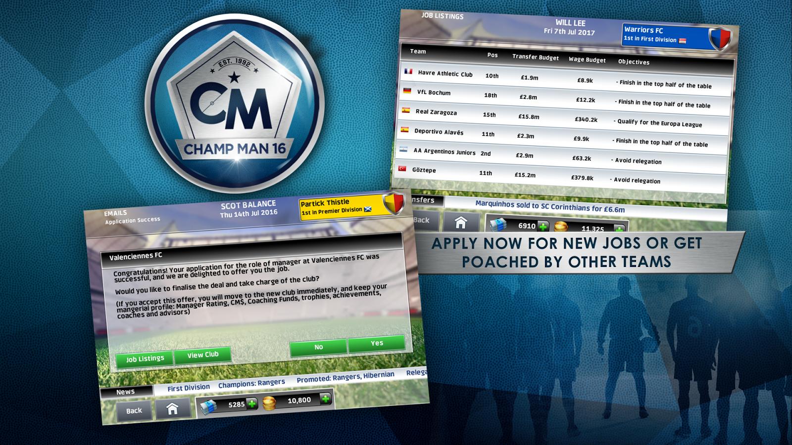 Champ Man 16- screenshot