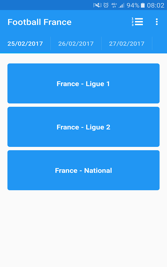 Football France- screenshot