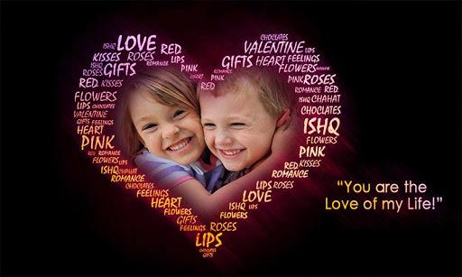 Love Heart Photo Frames