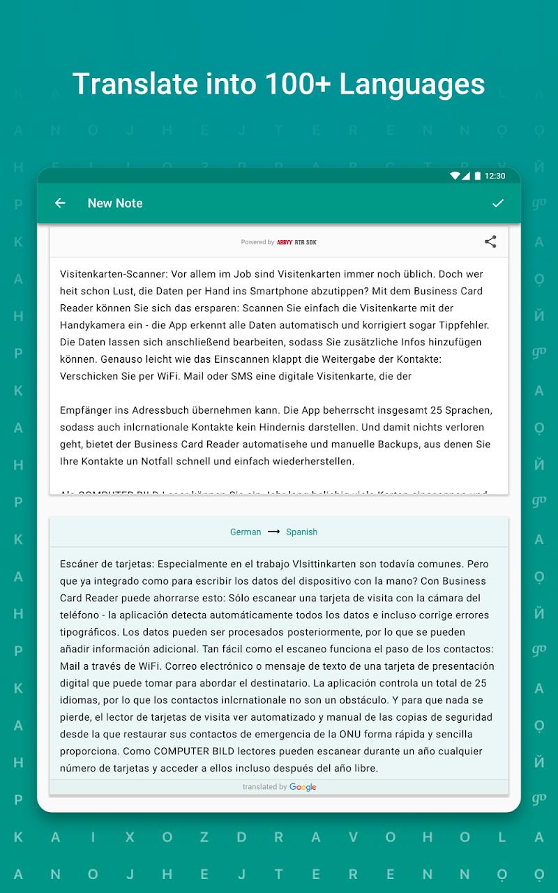 TextGrabber – image to text: OCR & translate photo Screenshot 16