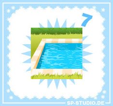 Photo: It's maybe cold outside, but a swimming pool background is never a bad idea. Let your SP-Studio characters enjoy the water :). www.sp-studio.de