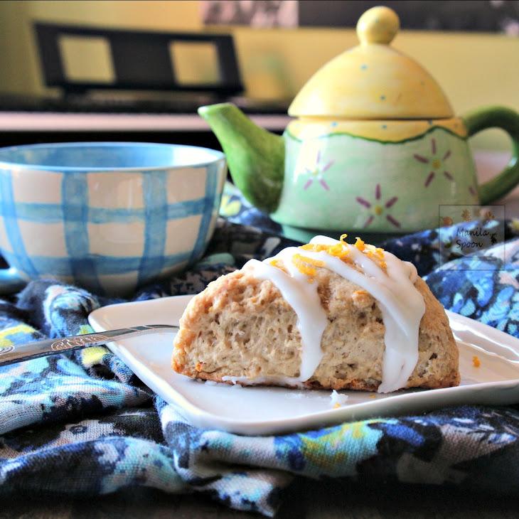 Lemon Cardamom Scones Recipe