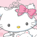 Hello kitty new tab page HD pop cartoon theme Icon