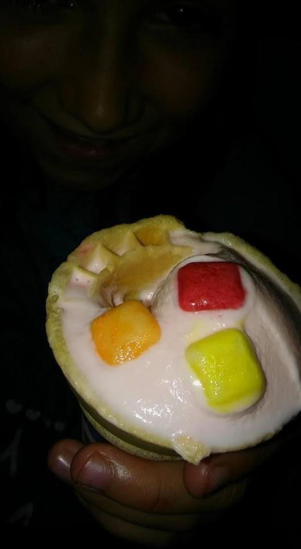 Bubble Gum Ice Cream ! Recipe