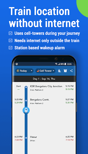Where is my Train : Indian Railway Train Status 6.1.2 screenshots 1