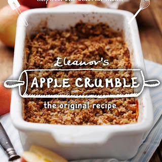 our Ellie's famous apple crumble - the original