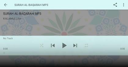 SURAH AL-BAQARAH MP3 screenshot thumbnail