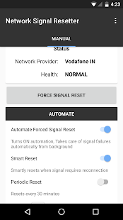 Network Signal Resetter- screenshot thumbnail