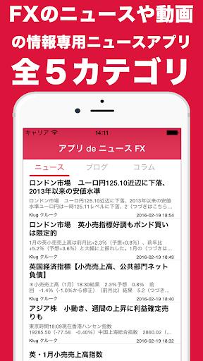 玩免費財經APP|下載FXニュース速報 By アプリdeニュース app不用錢|硬是要APP