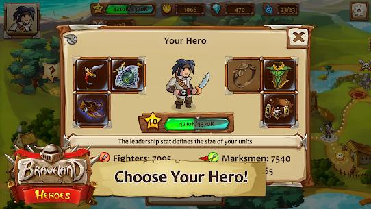 Braveland Battles Heroes MOD (Unlimited Money) 2