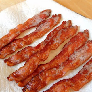 Perfectly Crisp Baked Bacon.