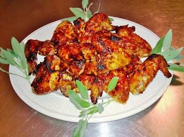Hoisin-Glazed Chicken Wings