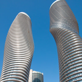 Absolutely Marilyn by Dave Reece - Buildings & Architecture Other Exteriors ( marilyn monroe, canada, city architecture, absolute condo, mississauga, dave reece )