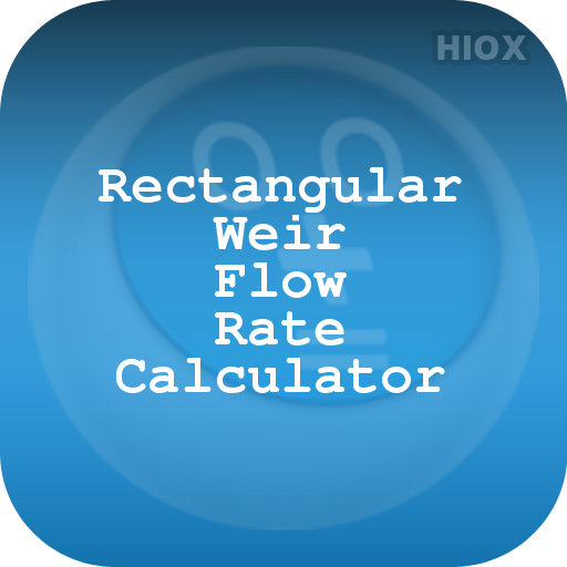 Rectangle Weir Flow Rate Cal - Apps on Google Play