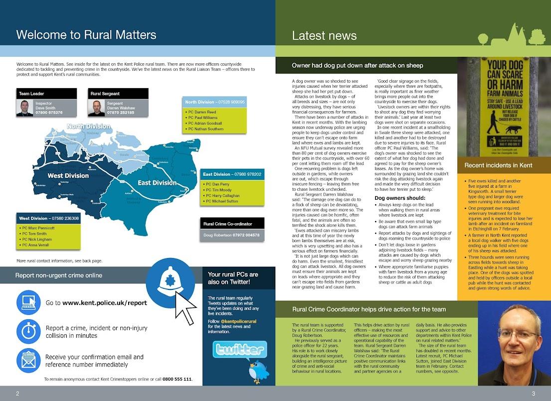Kent Police Rural Matters Spring 2019 Tenterden