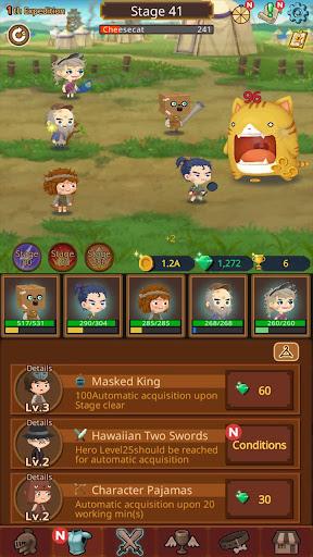 Job Hunt Heroes : Idle RPG 7.2.0 screenshots 2
