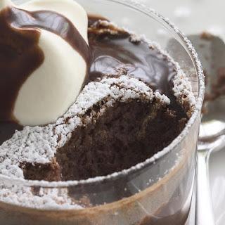 Chocolate Coconut Soufflé