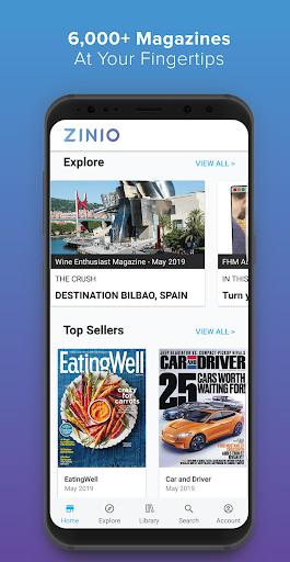 Zinio Magazine Reader screenshot 1