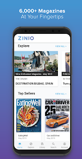 ZINIO - Magazine Newsstand Screenshot