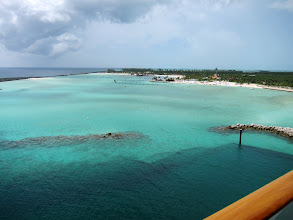 Photo: Castaway Cay from our room balcony