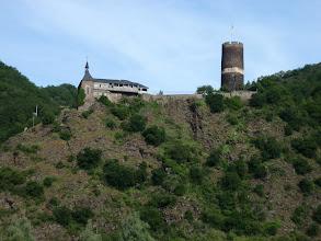 Photo: Eine Burg an der Mosel
