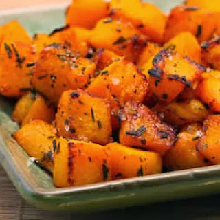 Roasted Butternut Squash with Lime and Rosemary Recipe