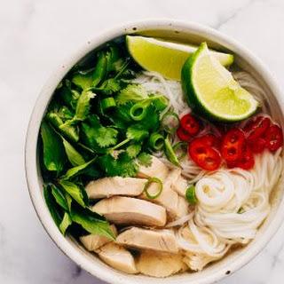 Instant Pot Chicken Pho Noodle Soup (Pho Ga) Recipe