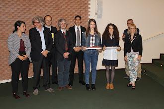 """Photo: Piccolo Agone Placidiano 2015: Vincitrici per il Liceo Classico """"Galileo Galilei"""" di Pisa: Irene Celestino (1° anno) ed Elisa Passaquieti (2° anno)"""
