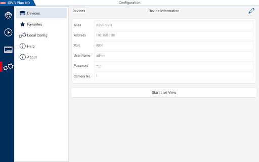 iDVR Plus HD 3.4.5 screenshots 6