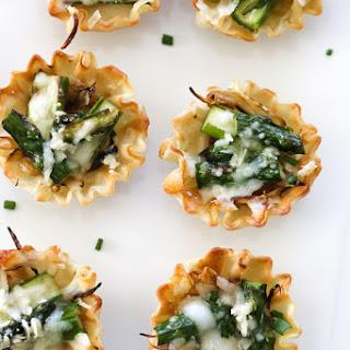 Asparagus & Caramelized Onion Tartlets